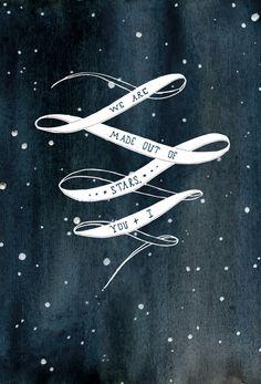 Starry Night Print by Merralee
