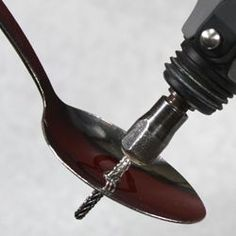 spoon jewelry diy, diy spoons, dremel diy, silverwar jewelri, how to use a dremel