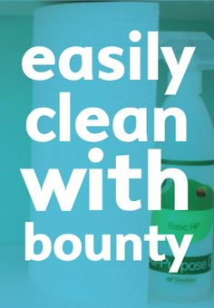 PIN FOR LATER -- moving? here's a cleaning checklist using Bounty!