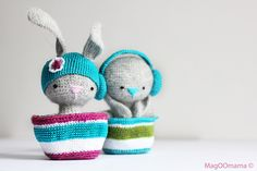 needleando amigurumi, crochet, knit, peaches