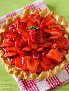 Strawberry Coconut Cream Pie