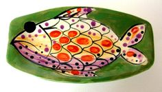 Decorative Handmade Stoneware Dish by JoyceSloanim on Etsy, $32.00