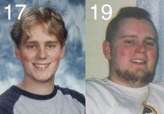 Josh's 100 lb weight loss on raw vegan