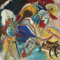 Vassily Kandinsky French, born Russia, 1866–1944  Improvisation No. 30 (Cannons), 1913