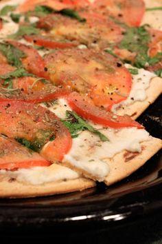 Ricotta and Rosemary Flatbread Pizza
