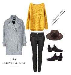 perfect fall outfit - mustard sweater