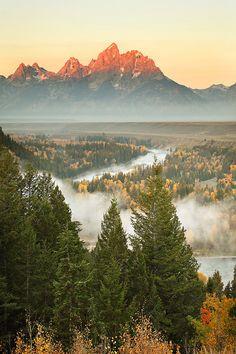 Snake River Overlook,  Grand Teton National Park