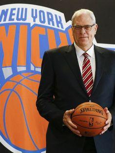 Phil Jackson named president of the New York Knicks http://www.usatoday.com/story/sports/nba/knicks/2014/03/18/phil-jackson-news-conference-new-york-knicks-nba/6557385/ Sport Life, Le Sport