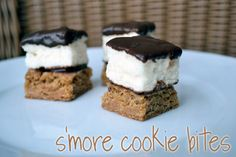 Smore cookie bites