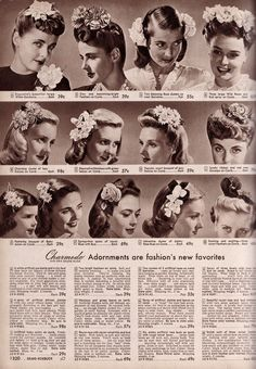 40s adornments. Just lovely.