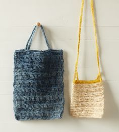 Crochet Summer Bags How-to