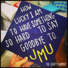 hats, the graduate, graduation caps, graduat cap, crafti farmer, jmu crafts, jmu dukes, quot