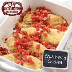 Bruschetta Chicken Recipe from Taste of Home