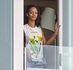 Rihanna without makeup
