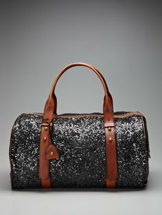 No one really NEEDS a sparkly duffle, but I appreciate it.