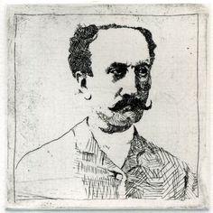#etching #intaglio #mustache