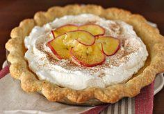 The Galley Gourmet: Apple Cider Cream Pie