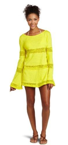 Love this bathing suit cover up. Yes, it's time to start thinking about your summer wardrobe. ACK!