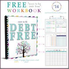 Paying off debt – FREE workbook!!