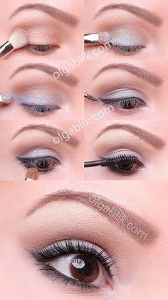 #Every day make-up tutorial  Make-up  #2dayslook #nice #beauty #Make-up   www.2dayslook.com
