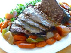 Yankee Pot Roast of Beef With Vegetables (In the Crock-Pot). Photo by BecR