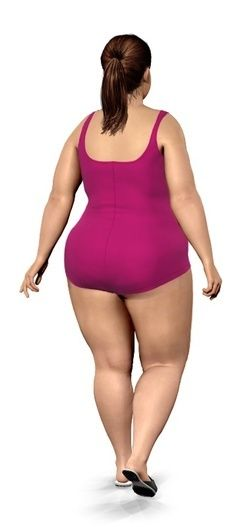 Does this swimsuit look good from behind with my body shape?