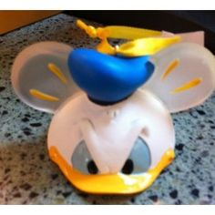 Disney Donald Duck Mickey Mouse Ears Hat Limited Edition Ornament