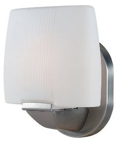 Access Lighting 20641-SAT/OPL Sophia 1-Light Wall/Vanity Fixture, Satin Finish with Opal Glass Shade by Access Lighting. $46.80. From the Manufacturer                Finish: Satin, Glass: Opal, Light Bulb: (1)60w T4 Mini Can 120v Halogen Sophia Wall & Vanity Sconce.                                    Product Description                Access Lighting Wall & Vanity Lighting