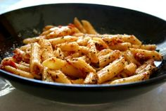 Penne & Sun dried tomatoes!