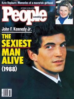 John F. Kennedy, Jr., People Magazine's Sexiest Man Alive 1988