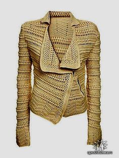 Crochet Blazer - Tutorial  ❥ 4U // hf