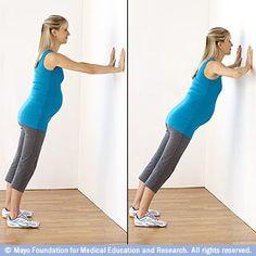 Pregnancy exercises week by week