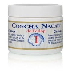 Concha Nacar de Perlop Night Cream - watch those dark spots fade...