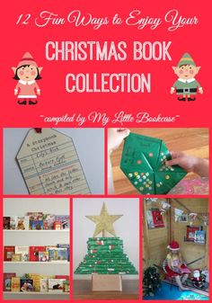 12 Fun Ways to enjoy your Christmas Book Collection by My Little Bookcase