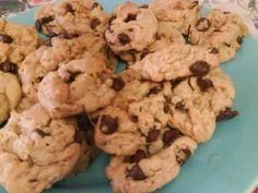 Peanut Butter Oatmeal Chocolate Chip Cookie recipe