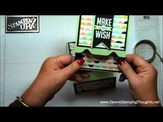 ▶ Envelope Punch Board gift card holder with Dawn - YouTube