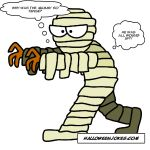 Kids Halloween Mummy Joke