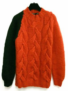 cables sweater