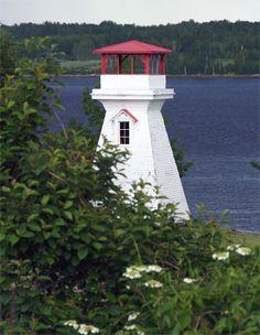 Oak Point Range Front Light, Moorefield, New Brunswick, Canada
