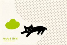 It is the card which Japanese designer Toshinori Mori designed.
