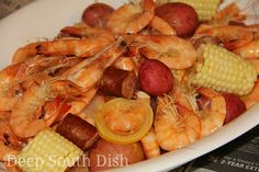 Deep South Dish: Absolutely Perfect Shrimp and Crab Boil