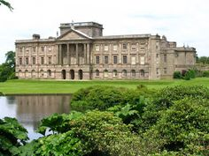 Lyme Park, Cheshire. Filming location for Mr Darcy's estate, Pemberley, in the 1995 BBC adaptation of Pride and Prejudice.