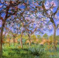 Giverny in Springtime by Claude Oscar Monet  http://www.artoyster.com/claude-oscar-monet-paintings_giverny-in-springtime_ls20305.html  landscape paintings  #oilpaintingsforsale #oilpaintings #paintingsforsale #paintings  #landscapepaintings