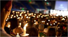 At the class reunion hold a candle lighting ceremony to remember classmates who have passed. Consider taking a photo and sending it to the classmate's families. #class reunion idea, #reunion memorial, #funeral idea