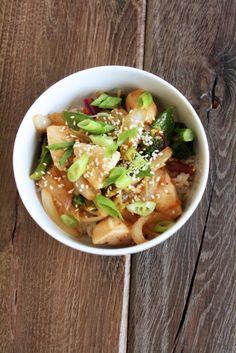 Chicken Teriyaki Bowl recipe
