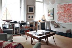 Ernest Alexander Sabine apartment in NYC / photo by Tariq Dixon