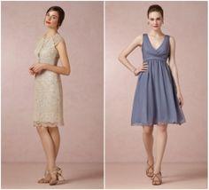 Garden Style Bridesmaid Dress