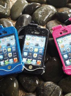Enjoy full use of your iPhone 4, 4s or 5 without risk of water damage or impact while at the beach, on a ski lift, riding a wave, or simply out in the rain.
