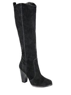 Joie - Dagny Knee-High Suede Boots - Saks.com
