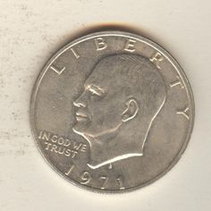 1971 Eisenhower Silver Dollar